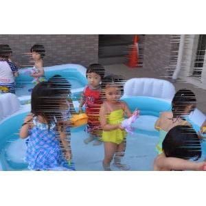 プール(水浴び)